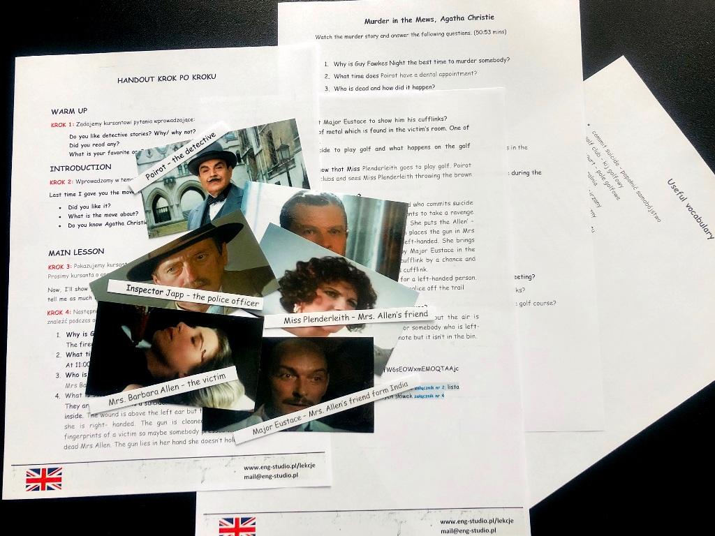 Detective stories. Gotowe lekcje języka angielskiego
