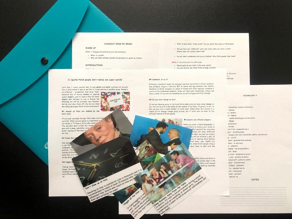 WEIRD HABITS. Materiały do konwersacji z tekstem i video