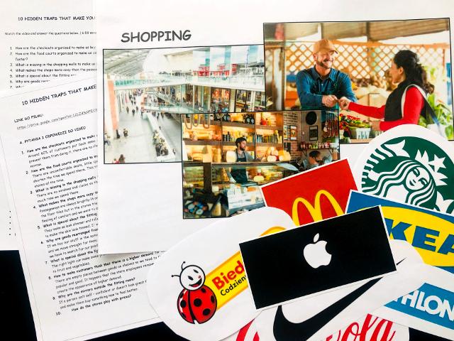 konwersacje angielski zakupy